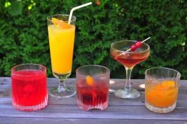 gin kokteily