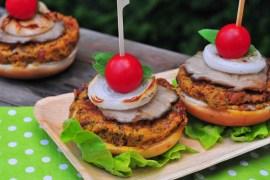 veggie slnečné burgery