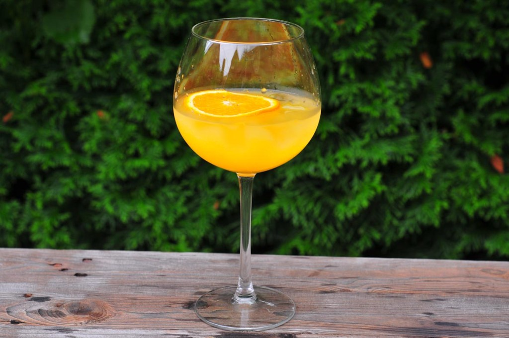Gin Gin Orange Fizz