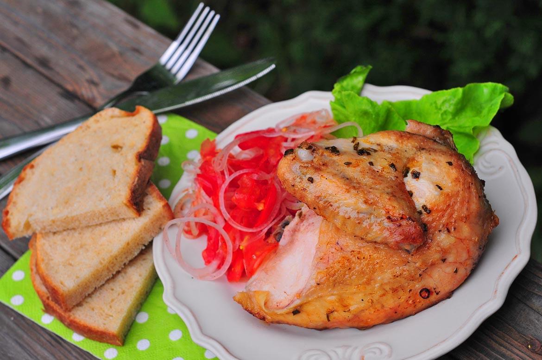 grilované kura kráľovské