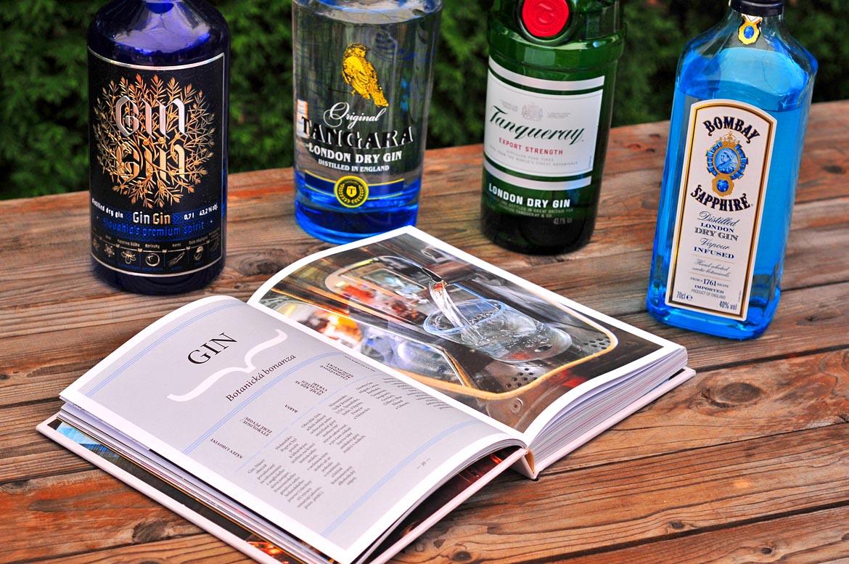 kniha destiláty gin