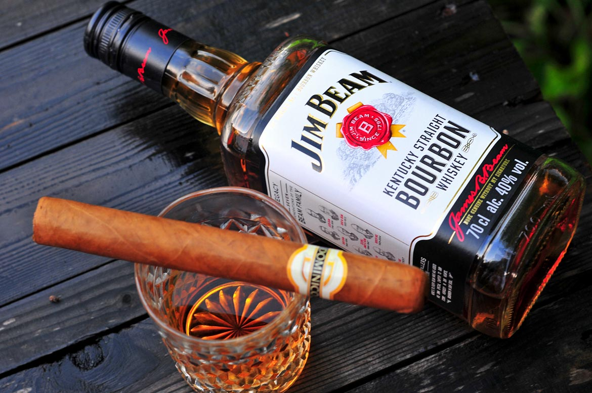 jim beam cigara