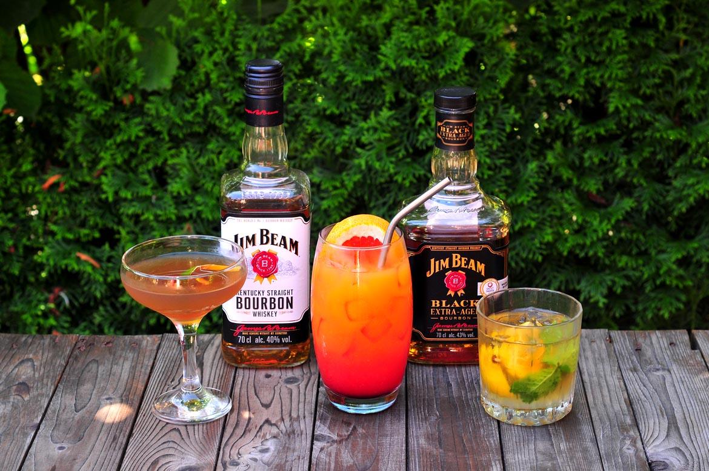 miešaný drink z bourbonu