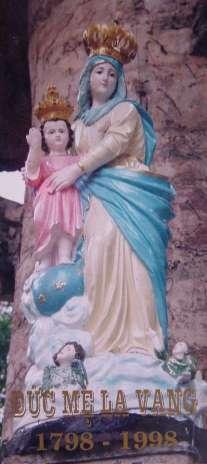 Thánh tượng Mẹ La Vang. 83