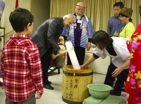 , Mochi-Tsuki Kai :: 餅つき会 (Rice Pounding Party), VNCS