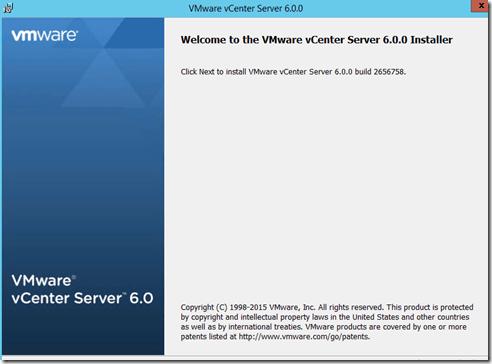 vSphere6Welcom