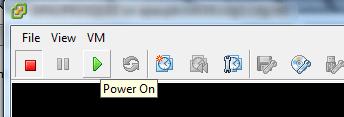 SRM Power On VM