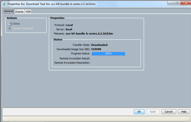 cisco ucs bundle download task