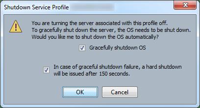 ucs blade server graceful shutdown