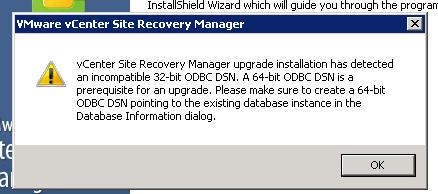 Update SRM 5.5 Step 4