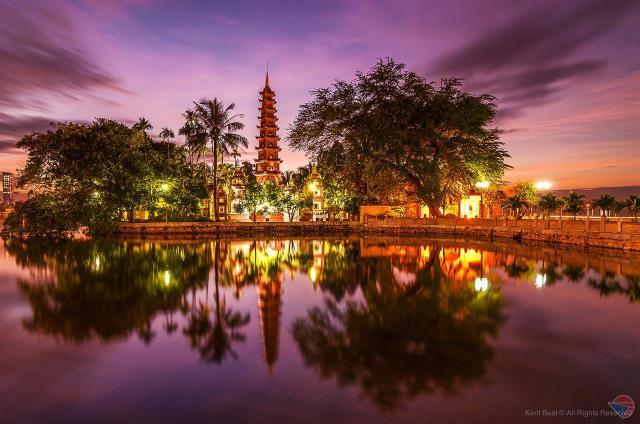 Hà Nội du lịch với ngôi chùa cổ nhất thủ đô