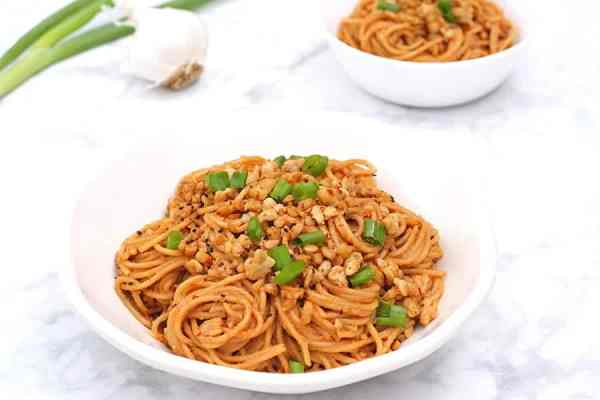 Spicy Sesame Noodles 4