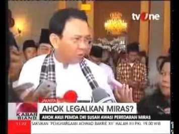 Miras Haram & Berbahaya, Gubernur Ahok Akan Melegalkannya di Jakarta