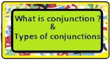 define conjunction