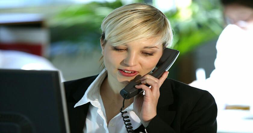 phoning