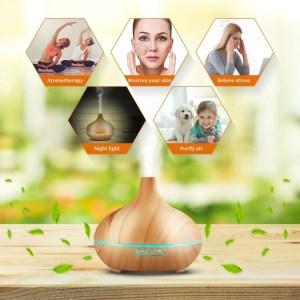 humidificateur diffuseur d'huiles essentielles pour la voix
