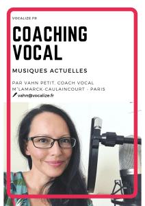 coaching vocal paris 18 cours de chant paris 18