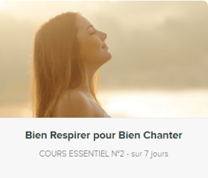 respiration pour chanter