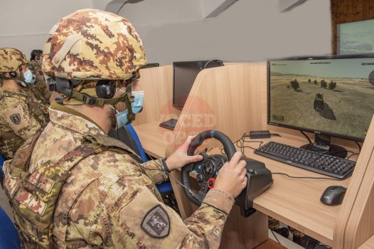 3. Le Unità di Manovra si addestrano con il simulatore Virtual Battle Space (VBS (1)