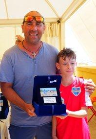 Consegna premio Luigi Spadaro al giovane Mattia Lucentini