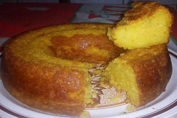 Receita de bolo de Milho cremoso de liquidificador
