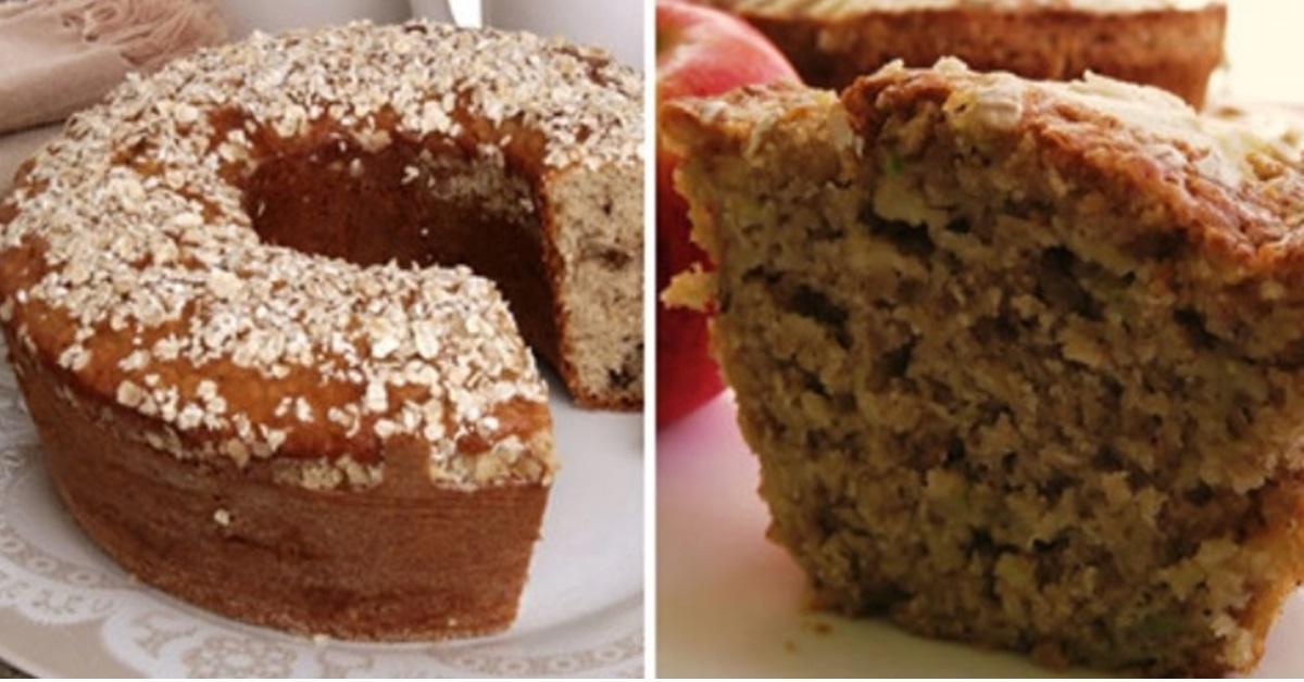 8 Deliciosas receitas de bolo de aveia light