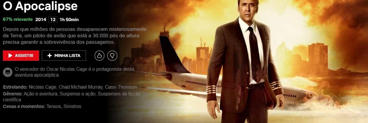o-apocalipse 33 Filmes Evangélicos  2019-2020 com temas atuais