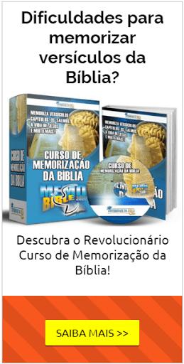 Curso Memorização da Bíblia