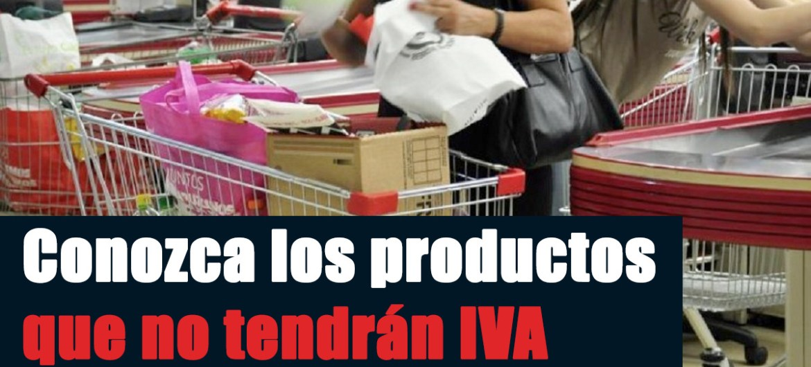 productos sin iva