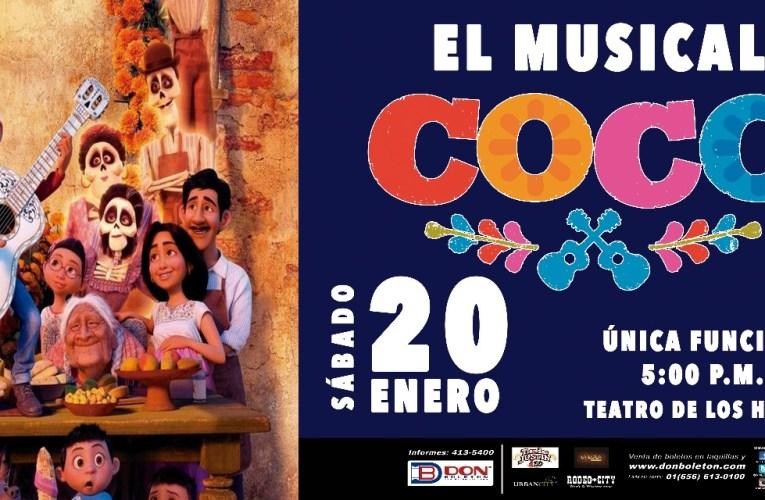 COCO EL MUSICAL EN EL TEATRO DE LOS HÉROES