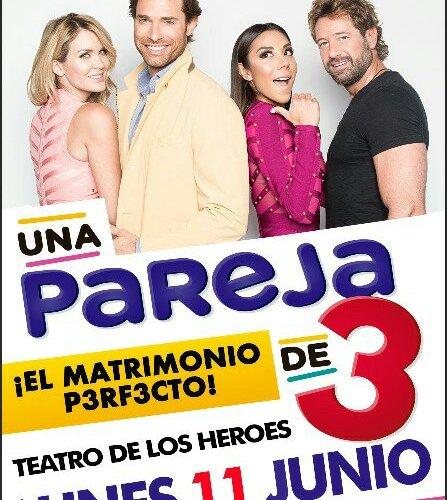 Una pareja de tres  de  Mauricio Pichardo  llega a Chihuahua