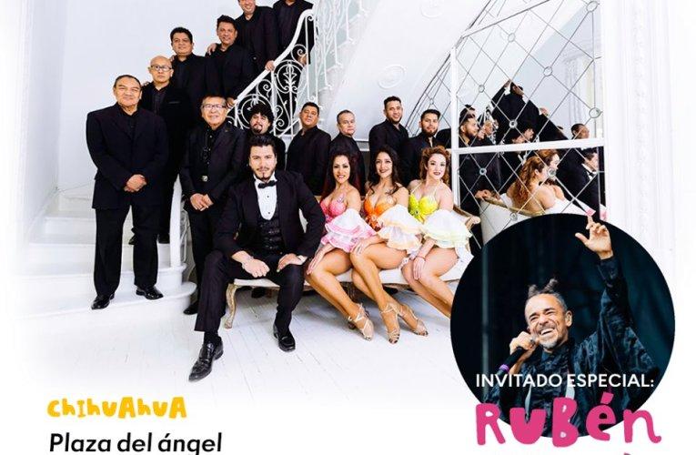 Alternará Rubén Albarrán con la Orquesta de Pérez Prado, en el cierre de los eventos masivos del FICH en la ciudad de Chihuahua