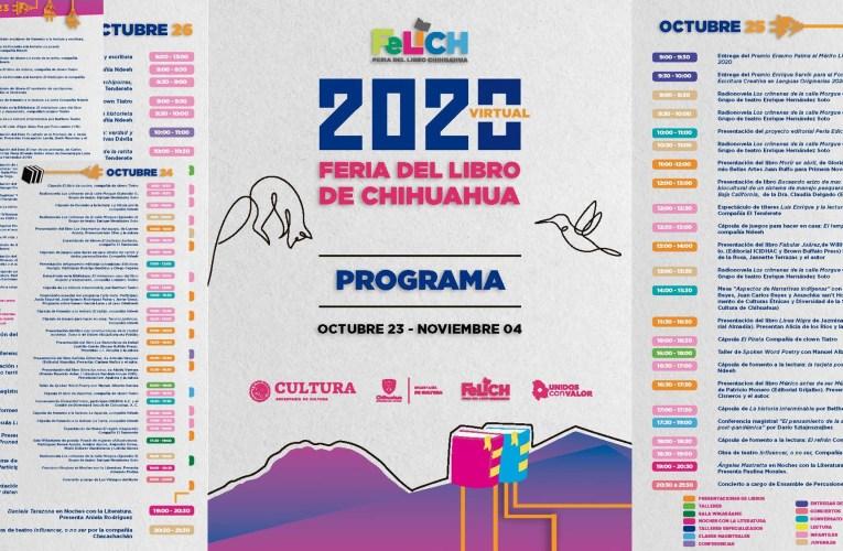"Programa Completo de la Feria del Libro ""Virtual"" 2020"