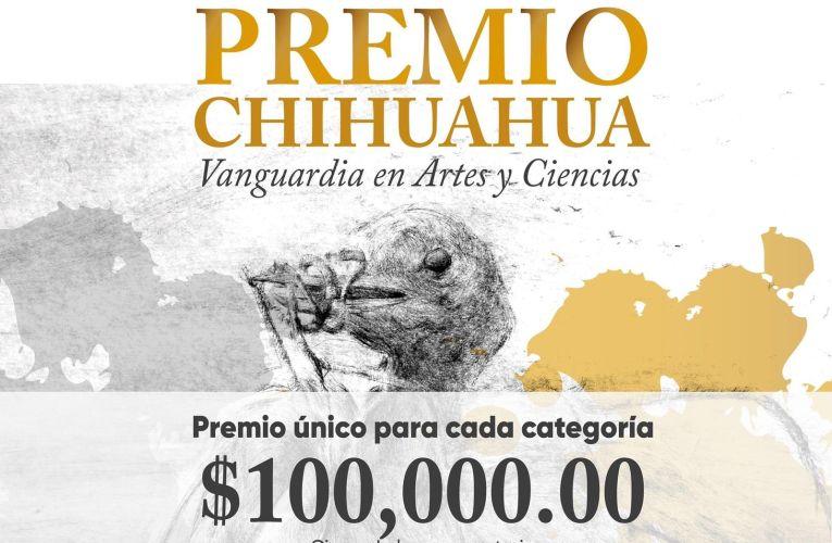 Lanzan convocatoria del Premio Chihuahua 2021Vanguardia en Artes y Ciencias