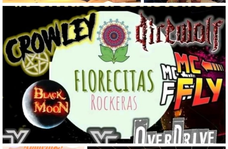 """""""Por nuestros retoños"""" Florecitas Rockeras"""