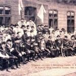 reînhumarea Principelui Francisc Rákóczi la Kassa Mai in anul 1906 unde particpa si Românii maramureşeni