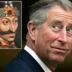 Printul Charles descendent a lui Vlad Tepes