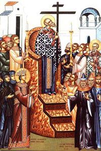 (†) Înălţarea Sf. Cruci (Post negru)
