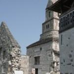Biserica Densus inaltime