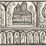Desen manastirea Arges