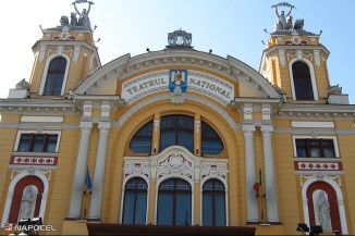 teatrul national C luj exterior