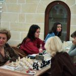 Olimpiada de Șah de la Valetta din Malta din 1980. Echipa României de la stânga: Elisabeta Polihroniade, Daniela Nuțu, Margareta Mureșan