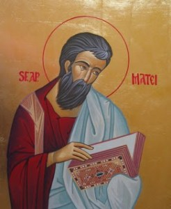 Sfântul Apostol si Evanghelist Matei