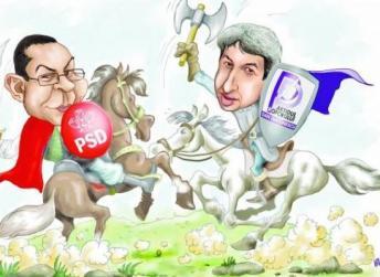 alianta politica caricatura
