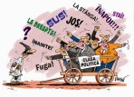 clasa politica caricatura