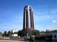 mausoleul din parcul Carol cu hemiciclul