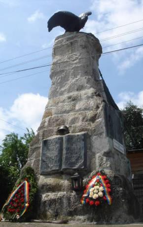 monumentul Vulturul din Bucium