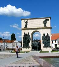 monumentul arcul de triumf din Arad
