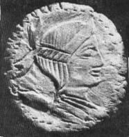 Dochia apare sub forma zeiţei trace Bendis, patroană a animalelor şi a buciumului ca însemn regal, ca în finalul poemului Sarmis