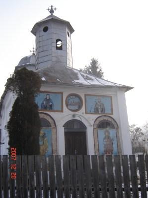 biserica din Barsesti Budesti Valcea
